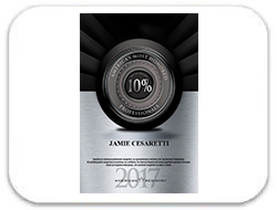 Jamie Cesaretti: America's Most Honored Professionals 2017 - Top 10%